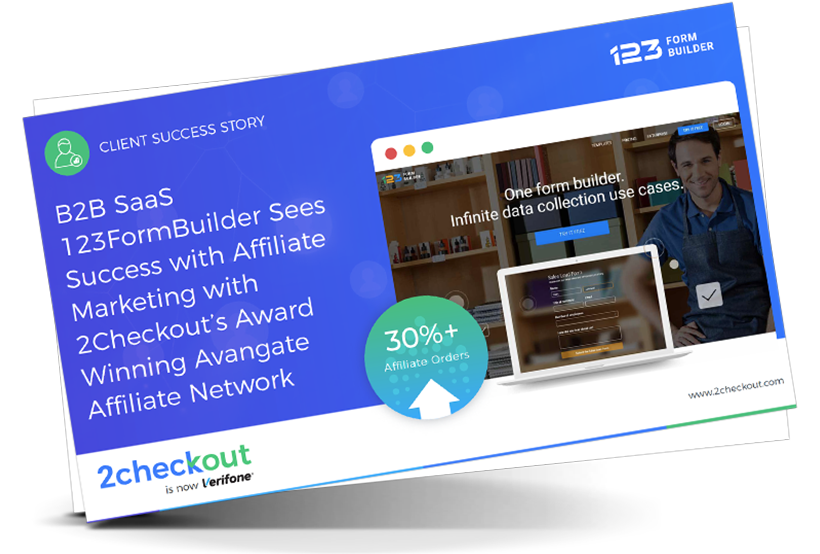 123FormBuilder Sees Success with Affiliate Marketing with 2Checkout's Award Winning Avangate Affiliate Network