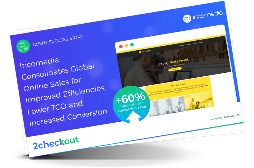 Incomedia Consolidates Global Online Sales with 2Checkout