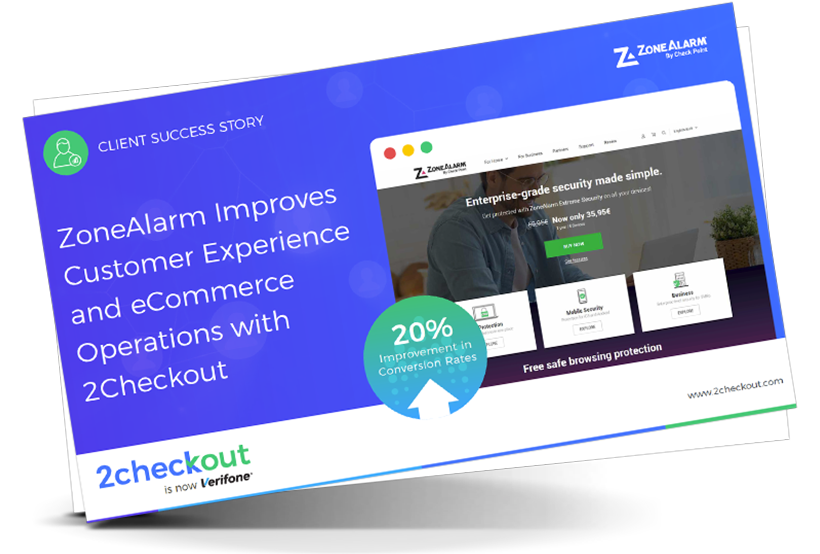 ZoneAlarm Improves Customer Experience and eCommerce Operations with 2Checkout