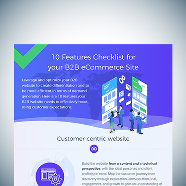 10 Features Checklist for your B2B eCommerce Site