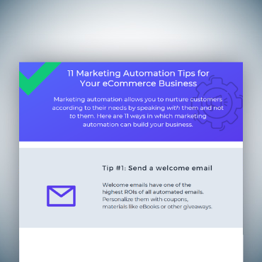 11 Marketing Automation Tips for Your eCommerce Business