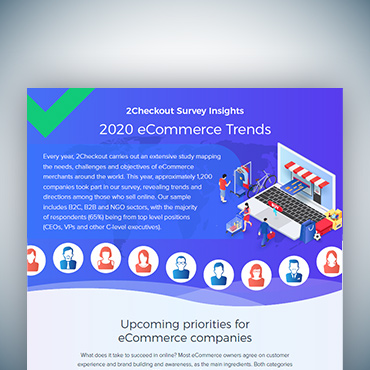 2020 eCommerce Trends – 2Checkout Survey Insights