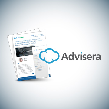Advisera Streamlines eCommerce Operations with 2Checkout