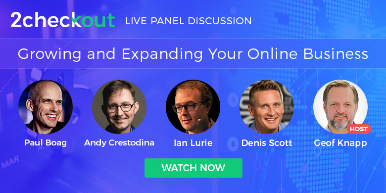 Growing and Expanding Your Online Business Panel