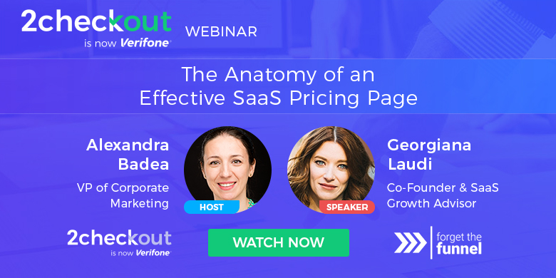 The Anatomy of an Effective SaaS Pricing Page Webinar