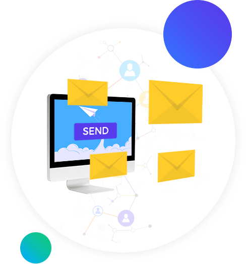 Drive and nurture leads through integrated email marketing