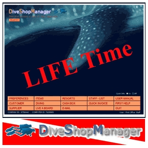 Dive Shop Manager Software